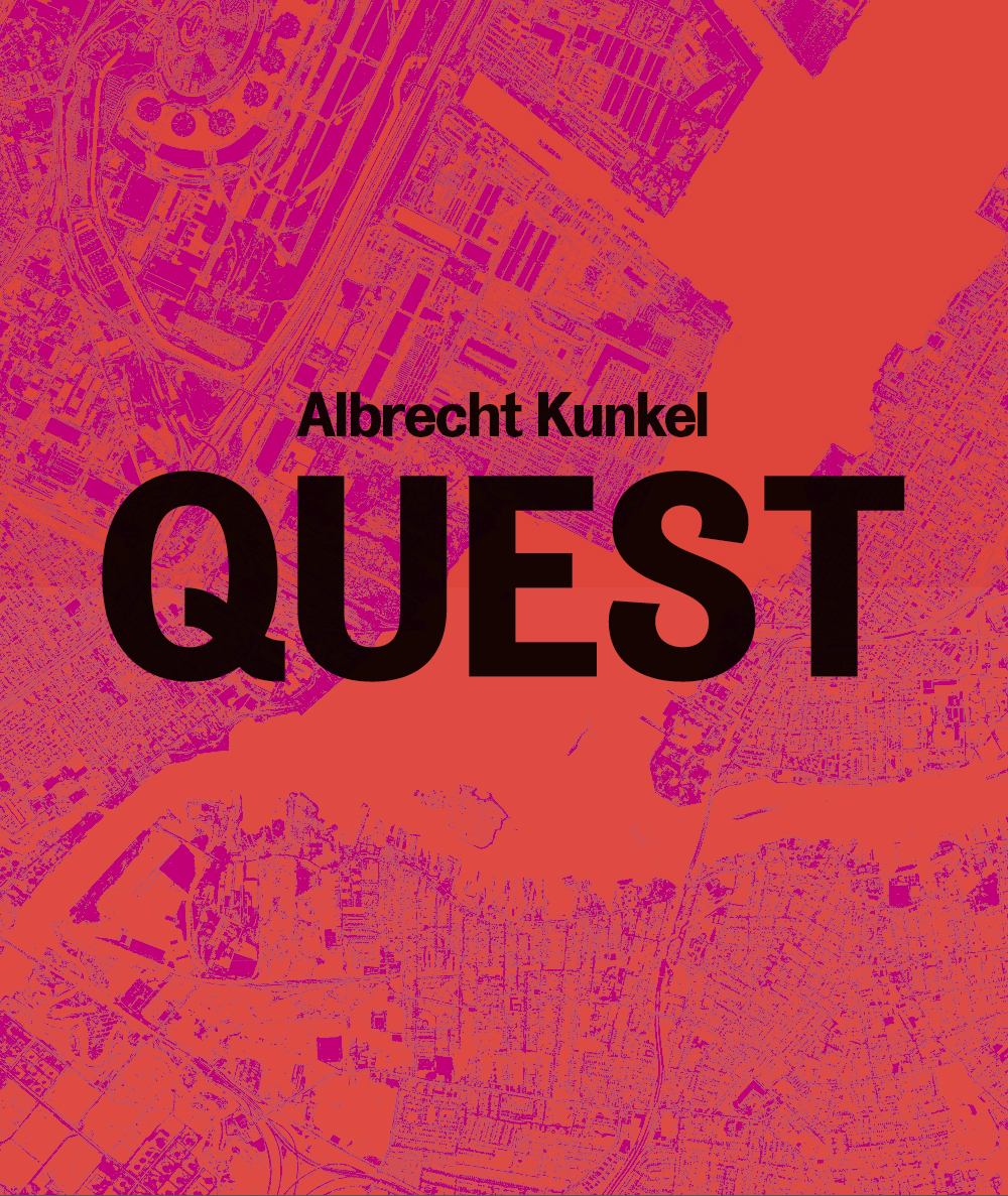 Bookcover of »Albrecht Kunkel: QUEST. Photographs 1989–2009«