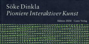 Cover of the publication »Pioniere interaktiver Kunst von 1970 bis heute«