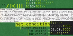 Cover of the publication »Net_Condition. Kunst / Politik im Online-Universum«