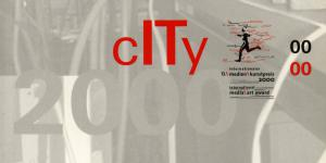 Cover der Publikation »City. Internationaler Medienkunstpreis / International Media Art Award. 2000«