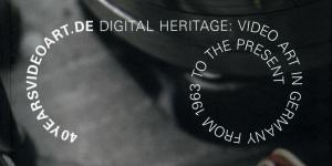 Cover of the publication »40yearsvideoart.de – Part 1 (English)«
