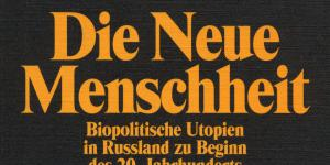 Cover of the publication »Die neue Menschheit«