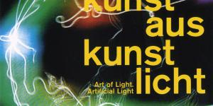 Cover of the publication »Lichtkunst aus Kunstlicht / Art of Light, Artificial Light«