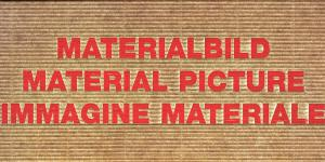 Cover der Publikation »Materialbild / Material picture / Immagine materiale«