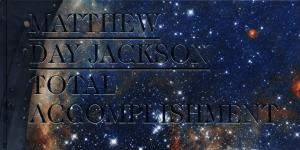 Cover of the publication »Matthew Day Jackson: Total Accomplishment«