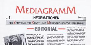 Cover der Publikation »Mediagramm Nr. 1«