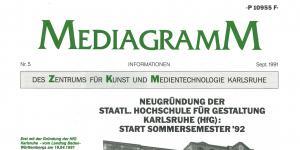 Cover der Publikation »Mediagramm Nr. 5«