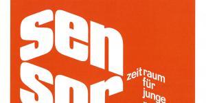 Cover der Publikation »Sensor. Zeitraum für junge Positionen. 02 Isabell Heimerdinger & Markus Sixay. Werke aus der Sammlung FER Collection«