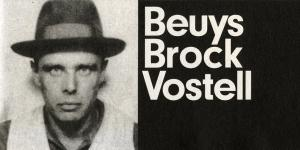 Cover der Publikation »Beuys Brock Vostell«