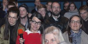 Das Publikum während des Frei Otto Symposiums