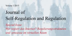 Cover der Zeitschrift Journal of Self-Regulation and Regulation
