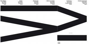 Plakat des Vortrags »6 zu 4: Judith Barry«