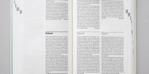 Blick in das aufgeschlagene Buch »Flusseriana«