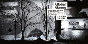 Cover des Faltblatts zur Ausstellung »Global Games«