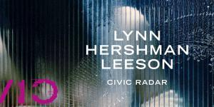 Cover der Publikation »Lynn Hershman Leeson. Civic Radar«