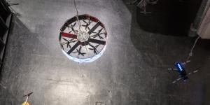 View from above: A gyroscope
