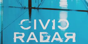 Cover der Publikation »Lynn Hershman Leeson: Civic Radar«