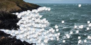 Bucht mit Datenansammlungen