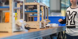 Ein 3-D-Drucker