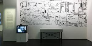 Blick in die Ausstellung »Radical Software«