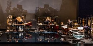 Les Percussions de Strasbourg beim Auftritt