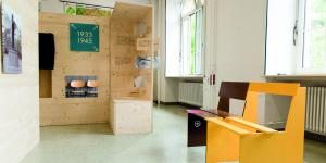 View on the exhibition for the project »NS in Karlsruhe«