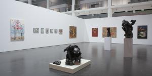 "Ausstellungsansicht ""Imagination Becomes Reality"""