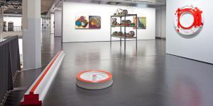 Ausstellungsansicht Vor dem ZKM