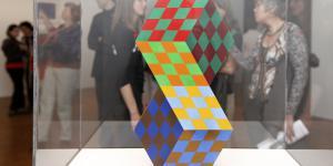 Ausstellungsansicht Symmetrische Kunst aus Ungarn