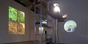Ausstellungsansicht Edmund Kuppel