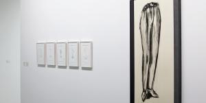 Ausstellungsansicht Stephan von Huene
