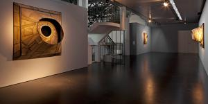 Ausstellungsansicht Lee Bontecou