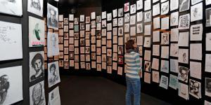Ausstellungsansicht Alles für die Kunst