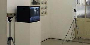 View of the exhibition »Peter Weibel. Sozialmatrix«