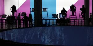 "Exhibition view ""Imagining Media@ZKM"""