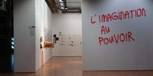 """Exhibition view """"Paul Virilio and the Arts"""""""