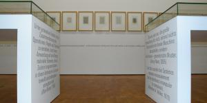 """Exhibition view """"Georg Nees: The Great Temptation"""""""