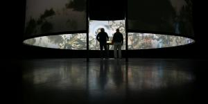 "Installationsansicht ""Robert Darroll, Sean Reed: Oracle"""