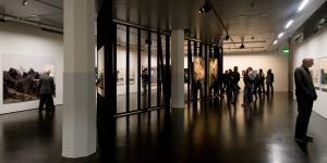 Blick in die Ausstellung »Albrecht Kunkel: Quest«