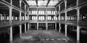 An empty atrium