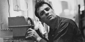 Jack Kerouac hört Radio