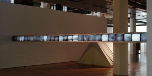 """Exhibition view """"Masterpieces of Media Art from the ZKM Collection"""""""