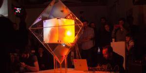 An enlightened cube