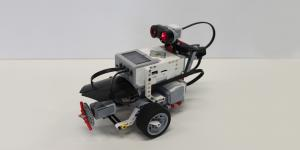 A robot of Lego Mindstorms