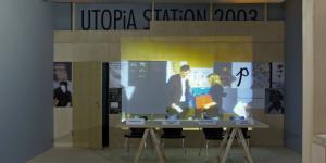 """Ausstellungsansicht """"Our Literal Speed"""""""