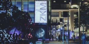 Impressionen der KAMUNA – Außenansicht des ZKM-Gebäudes
