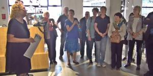 Stimmen zur Fördergesellschaft – Mitgliederexkursion 2016 Haus der elektronischen Künste und das Kunstmuseum Basel