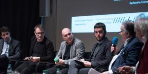 Podiumsrunde bei »Net Activism – Net Demagogy«