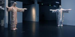 """Exhibition view """"Medium Religion"""""""