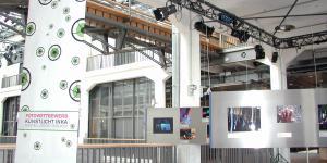 "Exhibition view ""Artificial/Art Light InKa"""